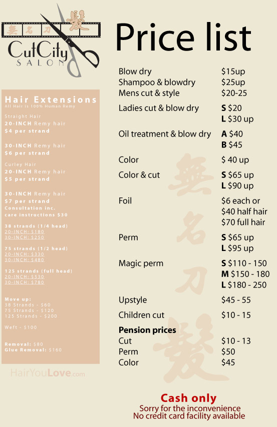Design Price List  BesikEightyCo